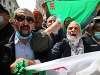 Anti-government Protest In Algiers