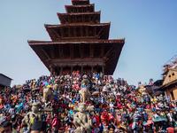 Biska Jatra Festival Started In Bhaktapur Nepal