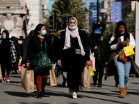 Oxford Street In London Busy With Shoppers After Lockdown Easing