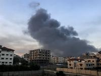 Israeli Air Strike Hits Gaza City