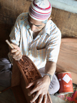 Woodworking In Kashmir, India