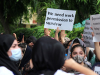 INDIA-AFGHANISTAN-PROTEST