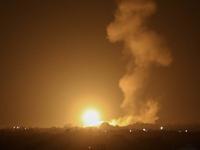 Israeli air strike in Southern Gaza Strip