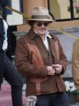 Johnny Depp leaves the Maria Cristina hotel at the 69th edition of the San Sebastian film festival