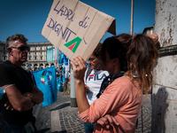 Alitalia Workers' Demonstrations