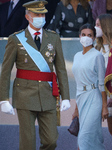 Royal  Of Spain In Celebration Of The National Holiday