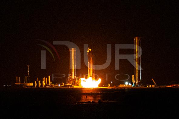 SpaceX Starship 20 Pre-Burner Engine Test