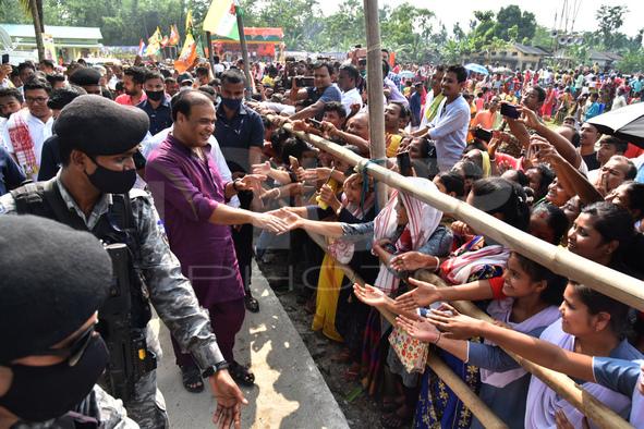 Assam Bye-election Campaign