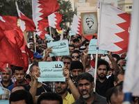 BAHRAIN-OPPOSITION-RALLY