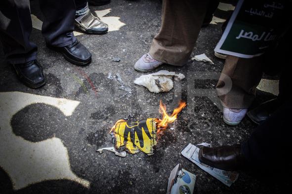 Pro-Sisi demonstration in Egypt