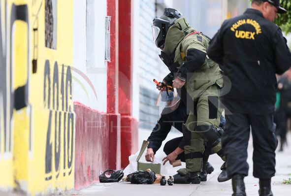 Peru Lima Security Granades