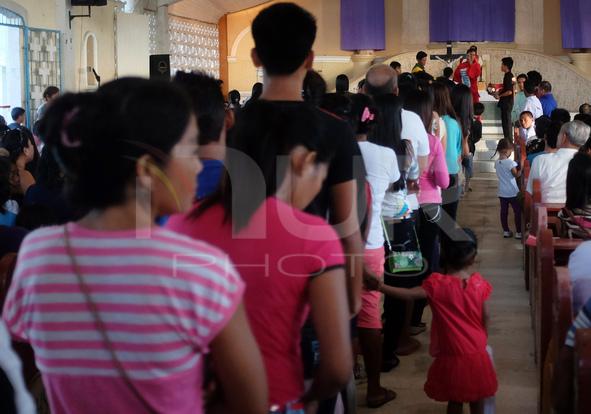 Holy Week at Bantayan Island, Central Visayas, Philippines.