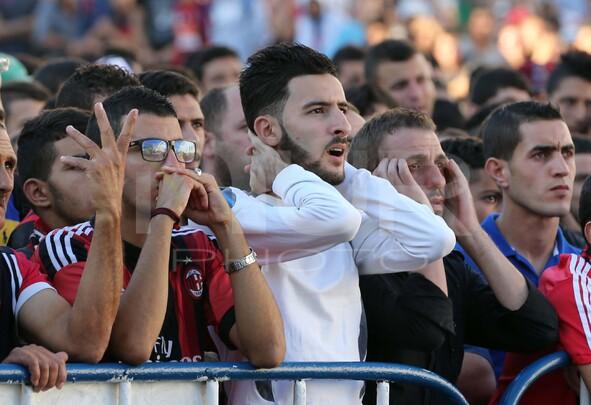 USM Alger supporters