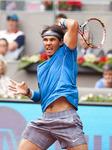 Mutua Madrid Open tennis: Rafael Nadal