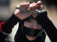 Demonstration in Solidarity with Palestinian Prisoners in Israeli jails