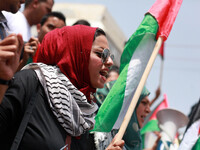 Rally to demand the end of Palestinian political divisions
