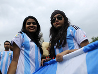 FIFA world cup fever in Dhaka,Bangladesh
