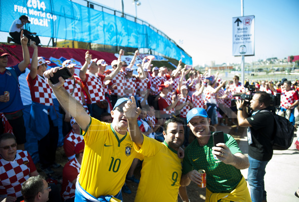 2014 FIFA World Cup Brazil opens