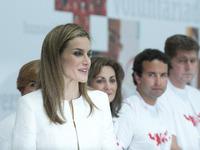 Queen Letizia attend Red Cross 150 Anniversary
