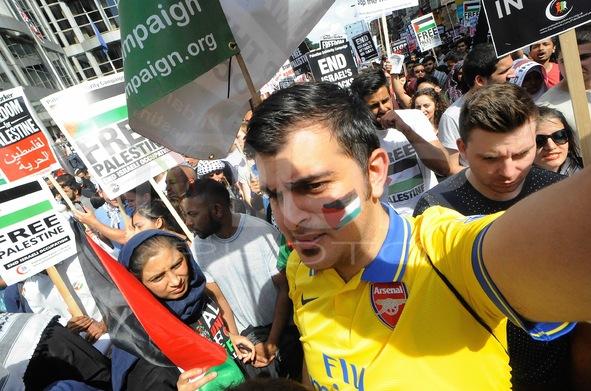 Anti-Israeli Protest London
