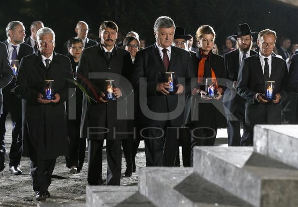 Commemoration Of Babi Yar Massacre In Kiev