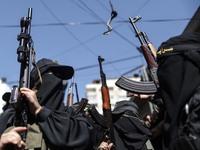 Demonstration In Gaza City