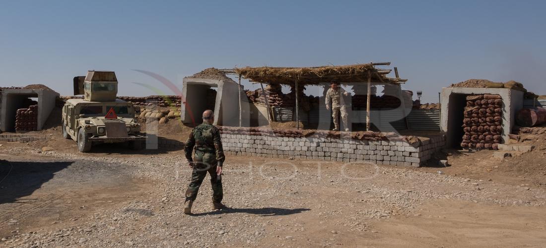ISIL Conflict: Peshmerga Forces In Khasir