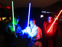 The 2016 Glow Sword Battle in Toronto, Canada