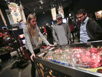 Public Pinball Tournament In Vancouver, Canada
