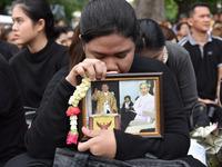 People Mourn For Thai King Bhumibol Adulyadej In Bangkok