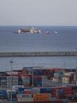 Costa Concordia is Arriving in Port of Genoa