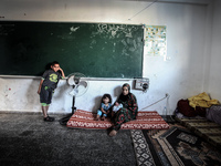 Palestinian baby born in UN School
