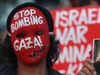 Filipino Activist supports for Palestine