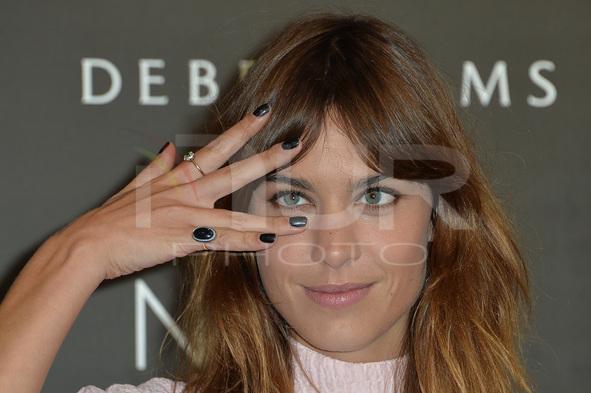 Alexa Chung - 'Alexa Manicure' Photocall