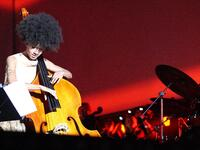 Esperanza Spalding and Wayne Shorter performs live in Gdansk, Poland