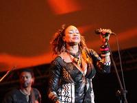 Oumou Sangare and Esperanza Spalding perform live in Gdansk, Poland