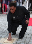 Wayne Shorter's handprint ceremony in Gdansk, Poland