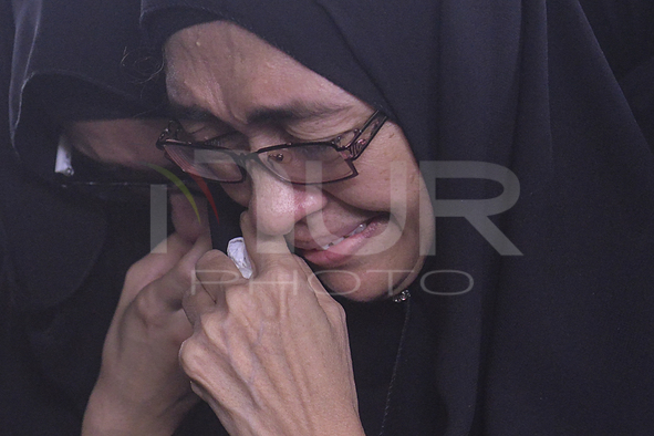 FUNERAL CEREMONY OF MH 17 VICTIM MOHD GHAFAR ABU BAKAR