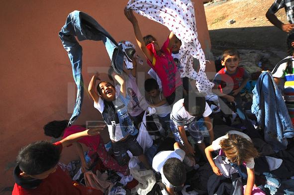 Muslim Refigees from Mosul In Turkey