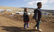 Yazidi IDPs on Mount Sinjar