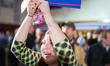 Bernie Sanders Celebrates Victory in New Hampshire