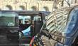 London black cab taxi protest