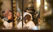 Holy Saturday Easter vigil mass in Jerusalem
