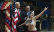 Donald Trump Wax Figure Presentation at Madrid Wax Museum