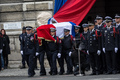 National Tribute To Fallen Police Officer Xavier Jugele Held In Paris