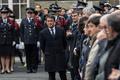 National Tribute To Fallen Police Officer Xavier Jugele Held In Paris