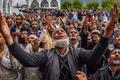 Muslim Devotees Throng Hajratbal Shrine On Occasion Of Mehraj