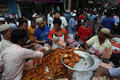 Traditional Iftar Market during Holy Month Ramadan in Dhaka