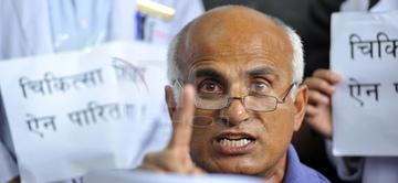 Dr. Govinda begins 11th hunger strike