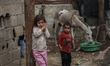 The daily life of children in the Beit Lahia in the northern of Gaza